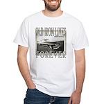 OLD IRON White T-Shirt