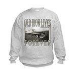 OLD IRON Kids Sweatshirt