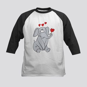 EL-LOVE-PHANT Kids Baseball Jersey