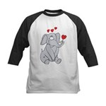 EL-LOVE-PHANT Kids Baseball Jersey