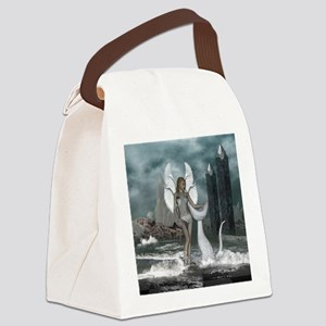 Beautiful fairy in the dreamworld Canvas Lunch Bag