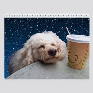 Cute poodle Wall Calendar