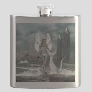 Beautiful fairy in the dreamworld Flask