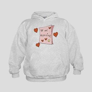 Be My Valentine Kids Hoodie