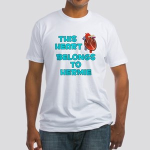 This Heart: Hermie (B) Fitted T-Shirt
