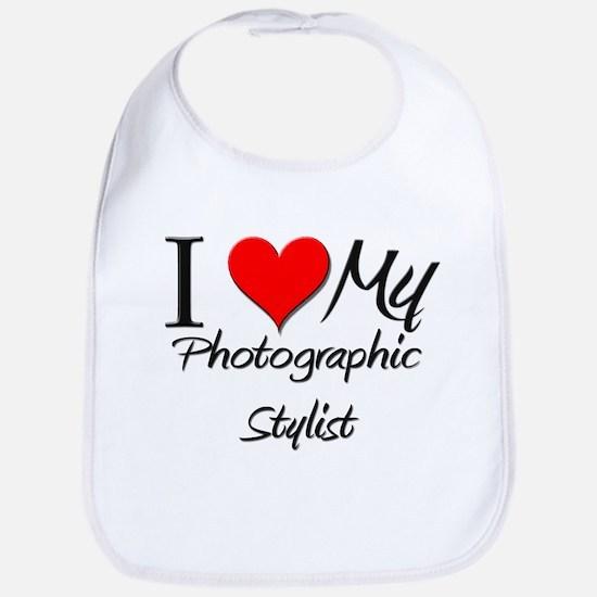 I Heart My Photographic Stylist Bib