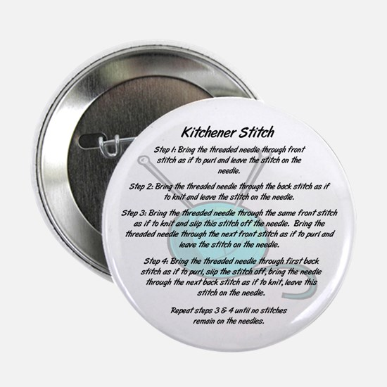 """Kitchener Stitch 2.25"""" Button (10 pack)"""