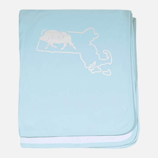 Feral Hog Trapping Massachusetts Wild baby blanket