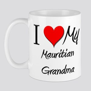 I Heart My Mauritian Grandma Mug