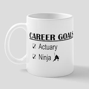 Actuary Career Goals Mug