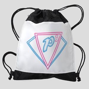 P3 Logo 2 Edit Drawstring Bag