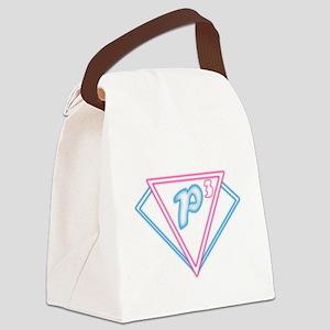 P3 Logo 2 Edit Canvas Lunch Bag
