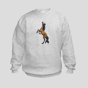 Mustang ~ Horse ~ Kids Sweatshirt (Two Sides)