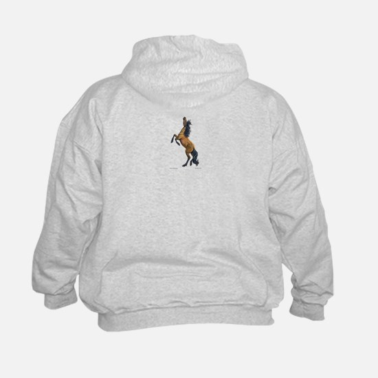 Mustang ~ Horse ~ Sweatshirt (Two Sides)