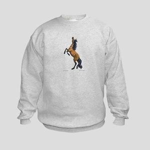 Mustang ~ Horse ~ Kids Sweatshirt