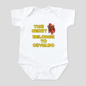 This Heart: Osvaldo (A) Infant Bodysuit