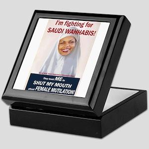Condi Rice - Dhimmi for FGM Keepsake Box