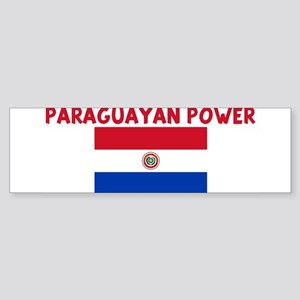 PARAGUAYAN POWER Bumper Sticker