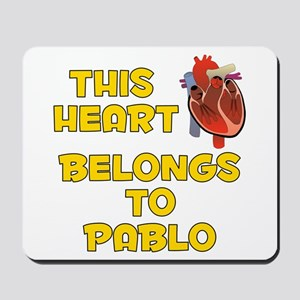 This Heart: Pablo (A) Mousepad