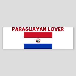 PARAGUAYAN LOVER Bumper Sticker