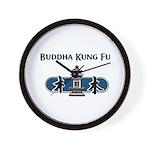 Buddha Kung Fu WALL CLOCK