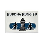 Buddha Kung Fu Rectangle Magnet (10 pack)