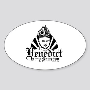 Benedict is my ROMEboy ~ Oval Sticker
