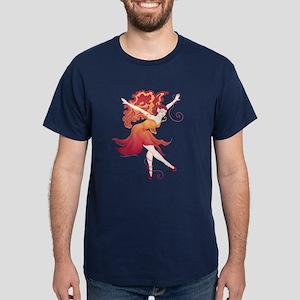 Fairy Dancer Picture Dark T-Shirt