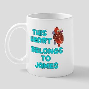 This Heart: James (B) Mug