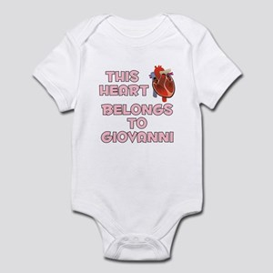 This Heart: Giovanni (C) Infant Bodysuit