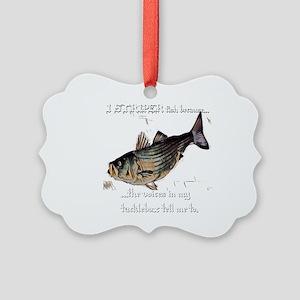 Striper Voices Picture Ornament
