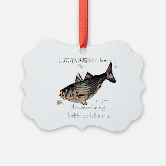 Striper Voices Ornament