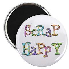 Scrap Happy Magnet