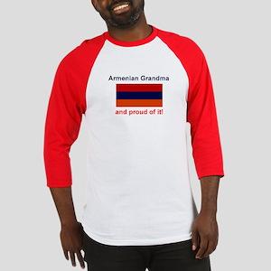 Proud Armenian Grandma Baseball Jersey