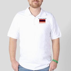 Proud Armenian Grandma Golf Shirt