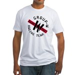 Group W Racing Fitted T-Shirt