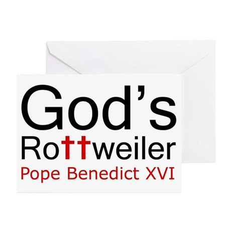 Pope Benedict XVI Greeting Cards (Pk of 10)