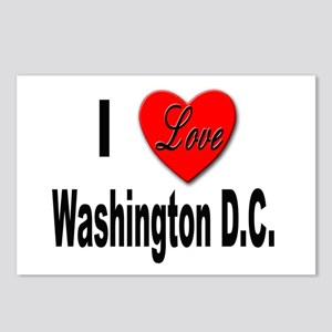 I Love Washington D.C. Postcards (Package of 8)