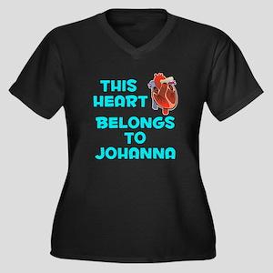 This Heart: Johanna (B) Women's Plus Size V-Neck D