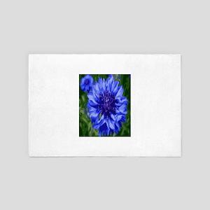 Blue star 4' x 6' Rug