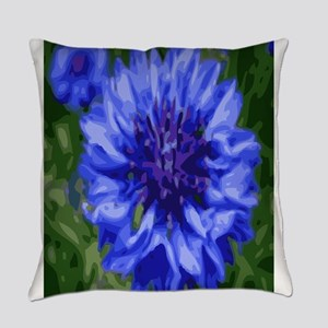 Blue star Everyday Pillow