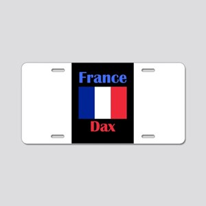 Dax France Aluminum License Plate