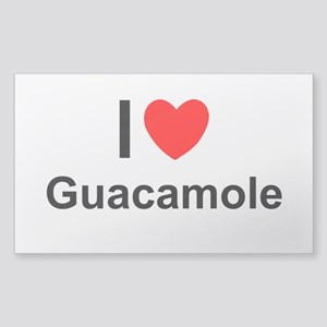 Guacamole Sticker (Rectangle)