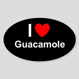 Guacamole Sticker (Oval)
