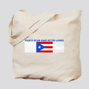 PUERTO RICAN MAKE BETTER LOVE Tote Bag