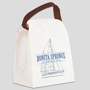 Bonita Springs Florida Canvas Lunch Bag