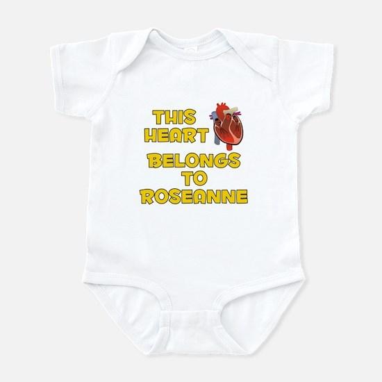 This Heart: Roseanne (A) Infant Bodysuit