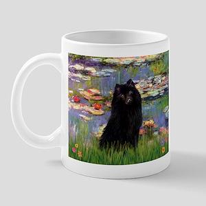 Lilies & Schipperke Mug