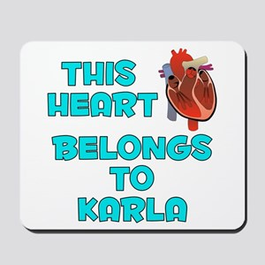 This Heart: Karla (B) Mousepad