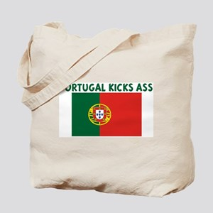 PORTUGAL KICKS ASS Tote Bag